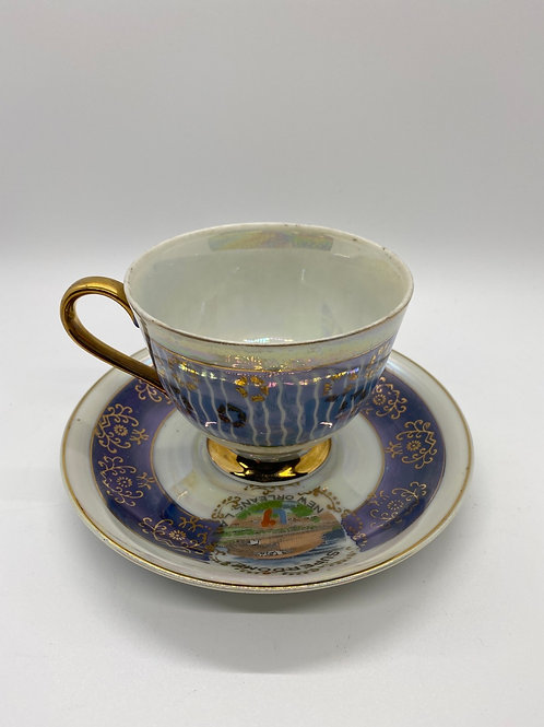 New Orleans Superdome cup and saucer