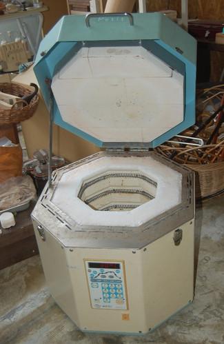 電気窯の熱線交換