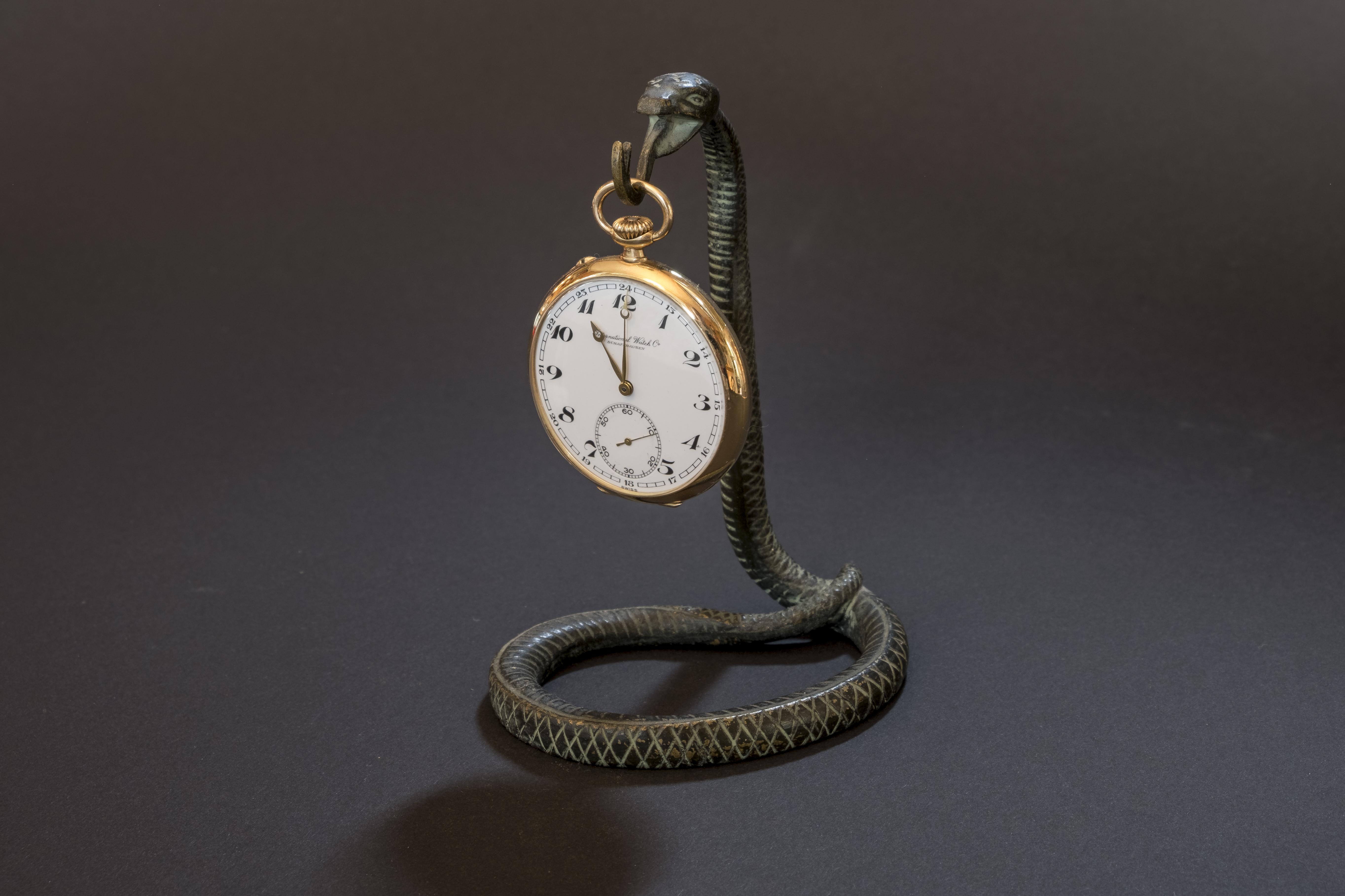 Revision einer IWC Taschenuhr