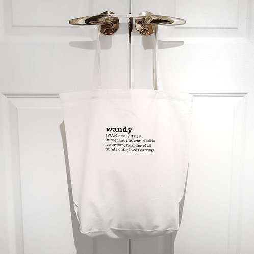 The Dictionary Tote