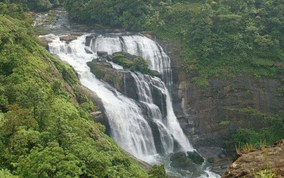 Mallalli falls coorg