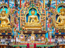 Golden temple coorg