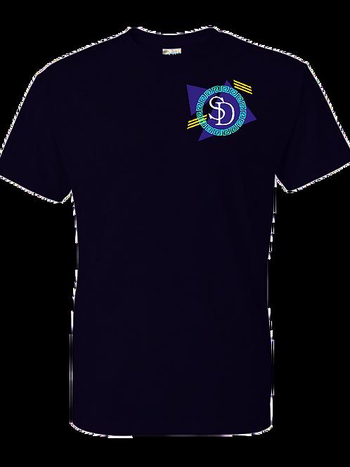 90's SD Logo Tee (Black)