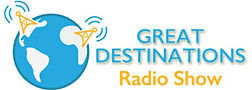 Great Destinations Radio Show logo