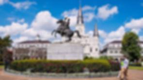 Andrew Jackson statue Jackson Square New Oreans