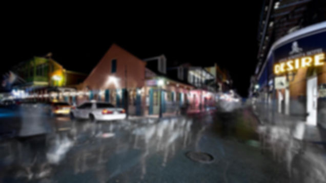 ghosts haunting French Quarter street New Orleans