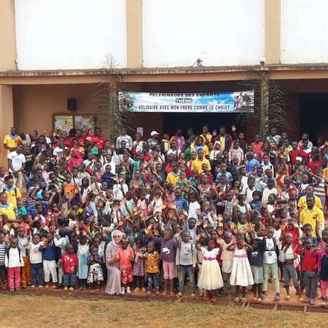 Święto dzieci w Nguelemendouka