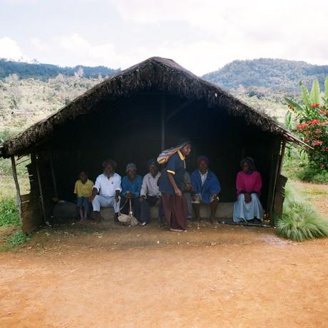 W górskiej wiosce