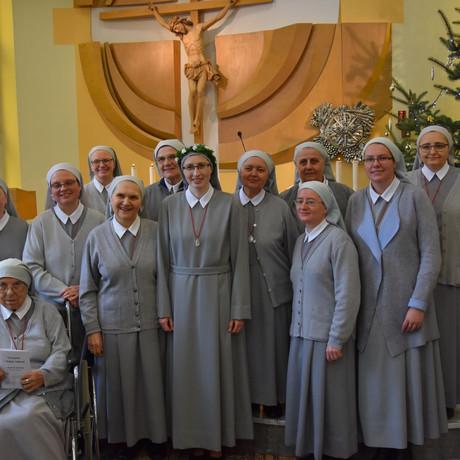 Śluby zakonne s. Agnieszki