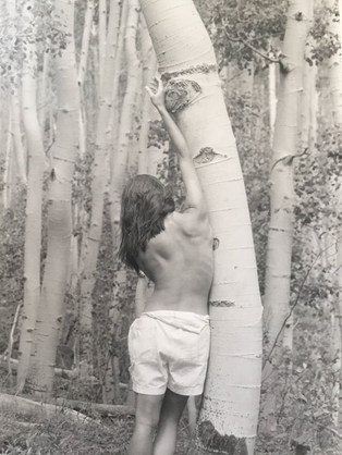 My back -1999 in Telluride Colorado