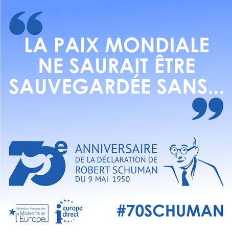 La déclaration Schuman a 70 ans!