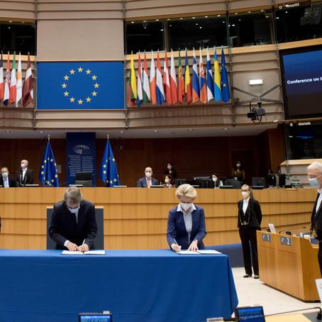 Lancement de la Conférence sur l'avenir de l'Europe
