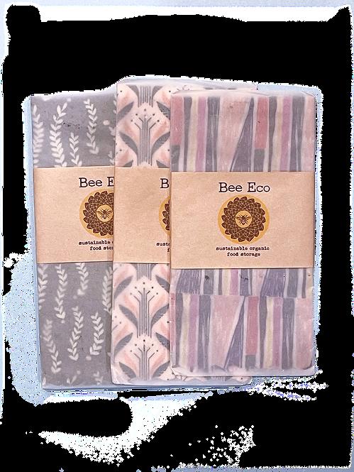 Bee eco wrap / XLサイズ (40x40㎝)