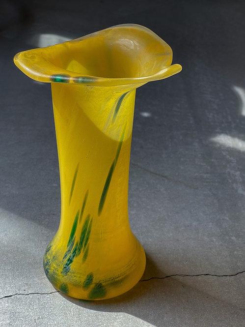 Italy Venetian Art Glass ヴィンテージ フラワーベース