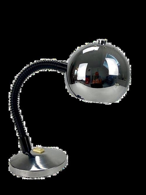 1970's Italy eyeball vintage desk lamp