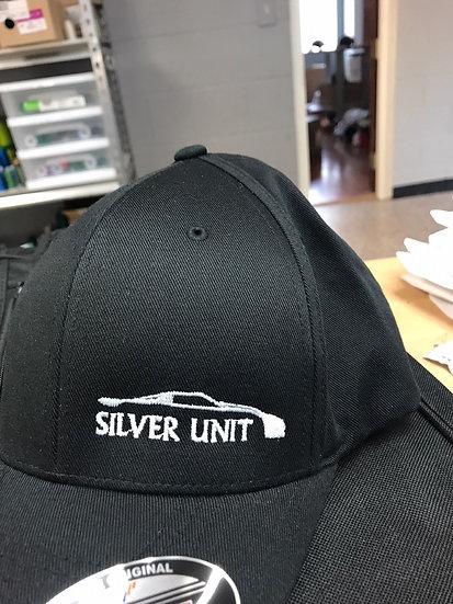 Silver Unit/ 405  Flex fit hats