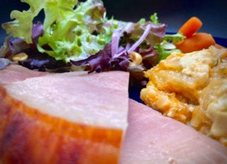 Friday Aug 6 - Orange- Honey Glazed Ham (Click  for Menu)