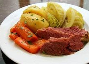 Friday October 30   Corned Beef with Cabbage