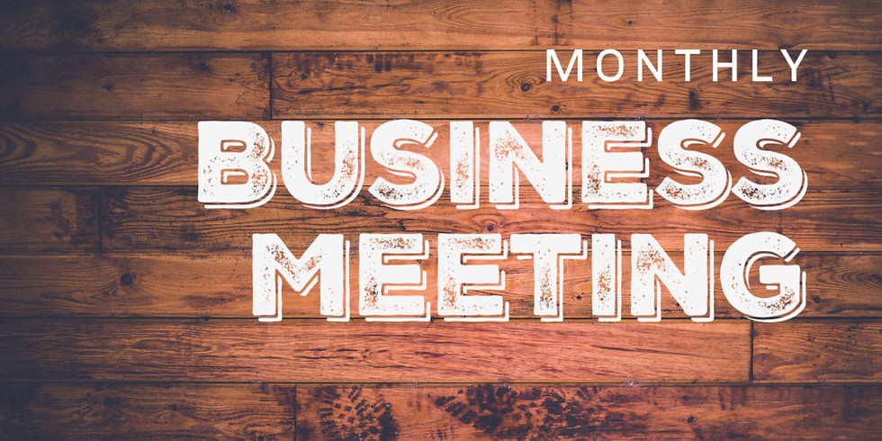 March Business Meeting