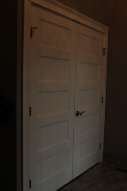 2124 closet doors foyer