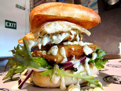 Battered Fish Burger