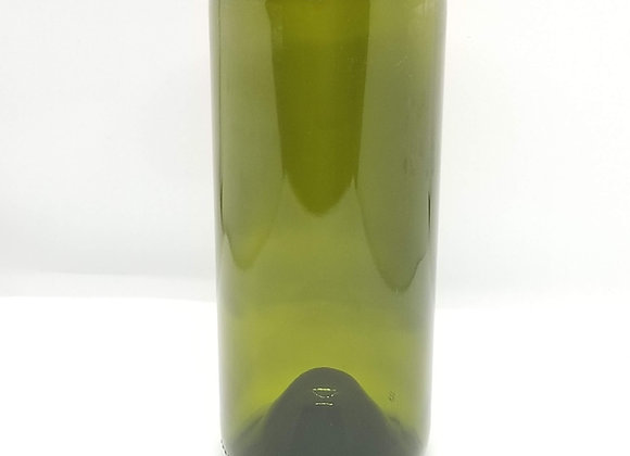 Wine Bottle Drinking Glass Dark Green Color