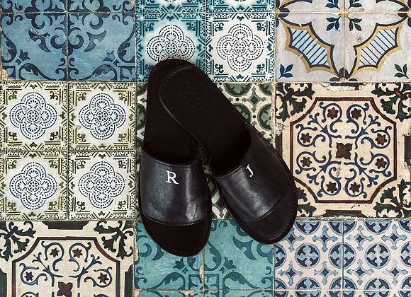 'NOMAD' slippers - personalization