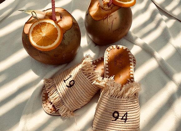 'Mounia slipper' - personalized
