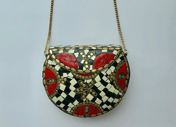 'ROCK' bag - Lady in Red