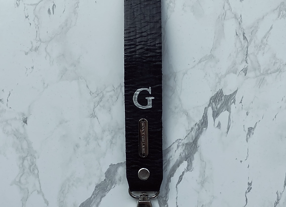 'LEATHER' strap