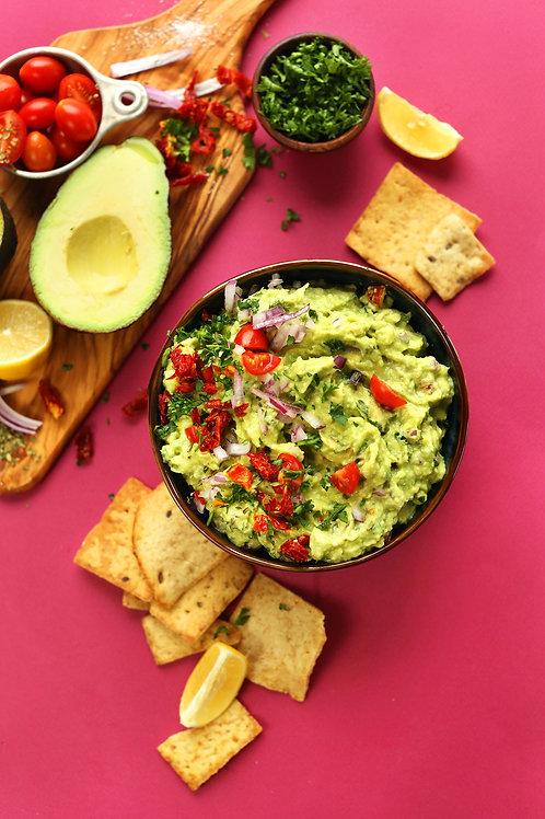 Fresh Vegan Guacamole