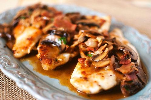 Boneless Chicken Marsala