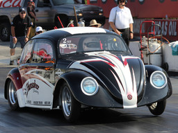 Racing a 300bhp VW