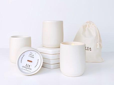 Ceramic Candle Collaboration