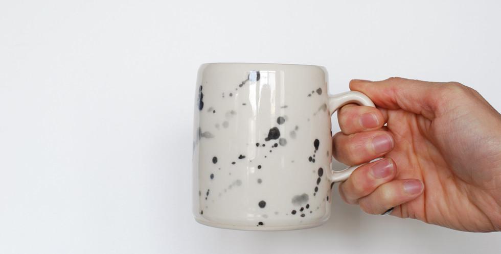 Handcrafted Modern Camper Mug