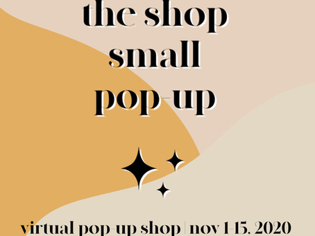 The Shop Small Pop-Up Market