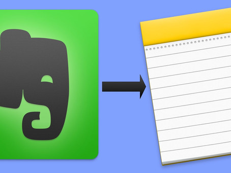 Converting From Evernote to Apple Notes