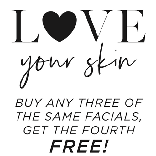 BUY any 3 of the Same Facial and get the 4th FREE :: Prices start at $120