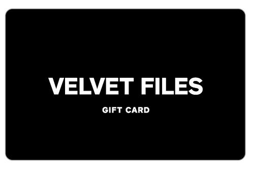 Velvet Files Gift Card