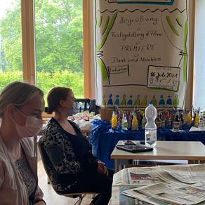 Projekttreffen an der Agnes von Hohenstaufen Schule