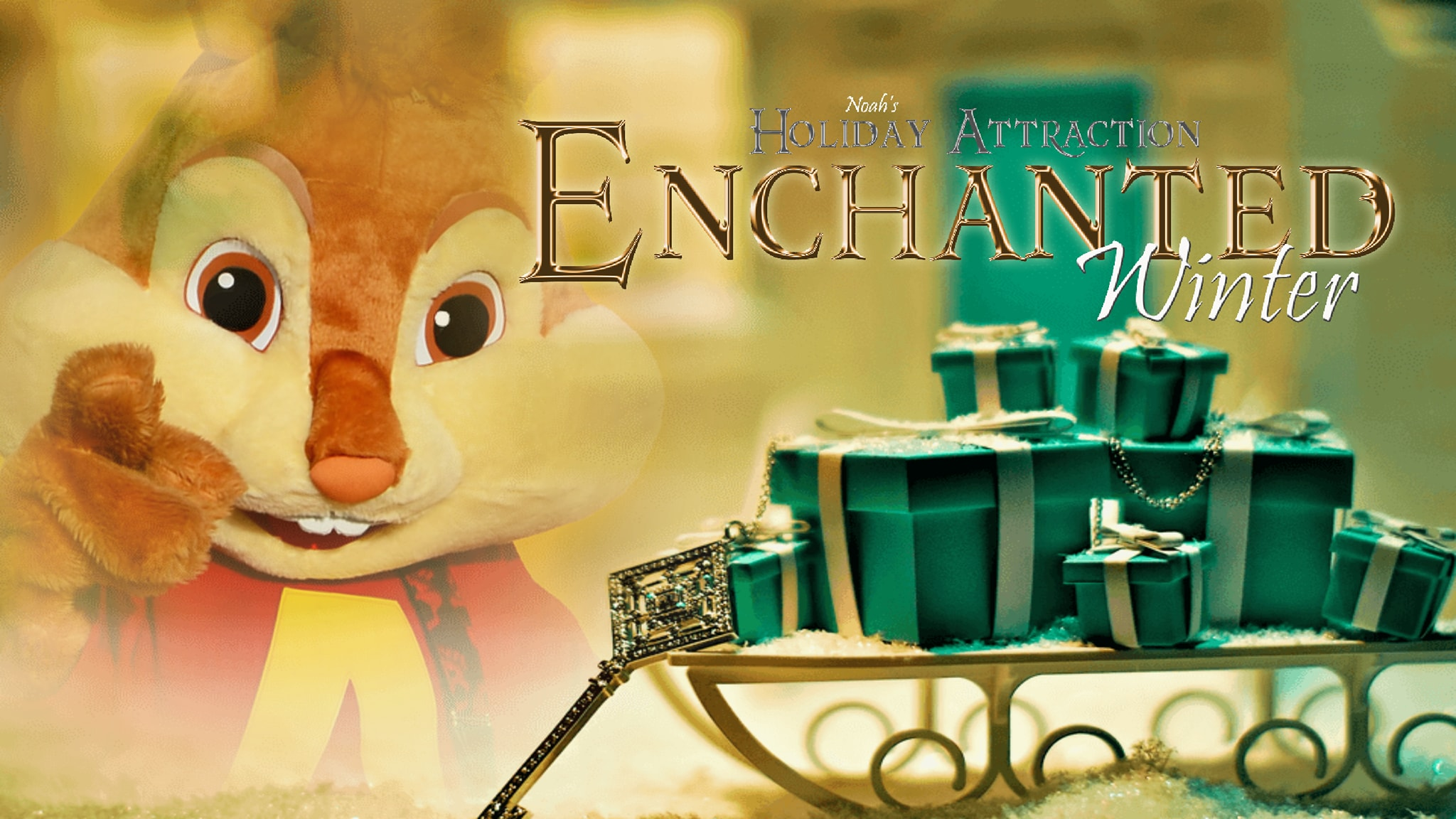 Chipmunk Enchanted Winter