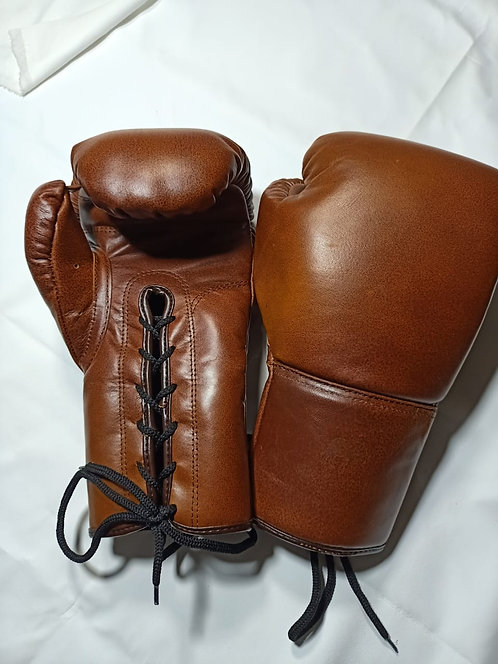 Redwood Lace-up Leather Boxing Gloves