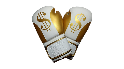 Gold Dollar Boxing Gloves