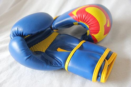Kids Superhero Gloves Blue