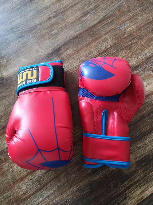 Superhero Gloves Red Kids