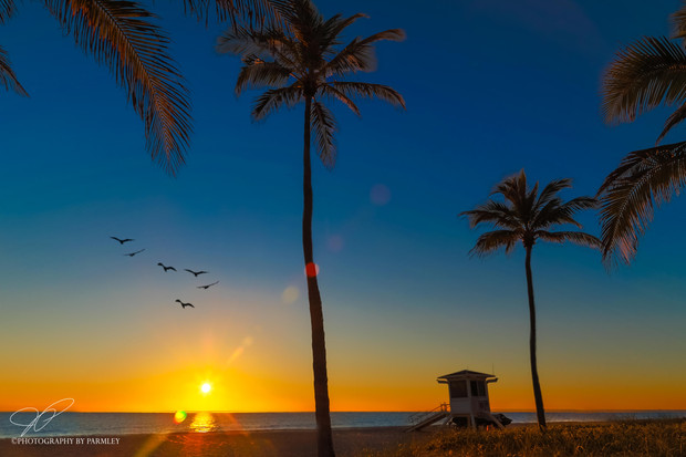 Fort Lauderdale Beach Sun Rise