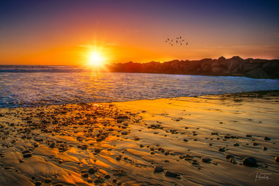 Ventrua Beach Sunset