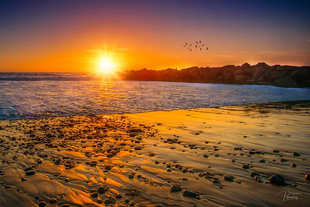 Ventura Beach Sunset