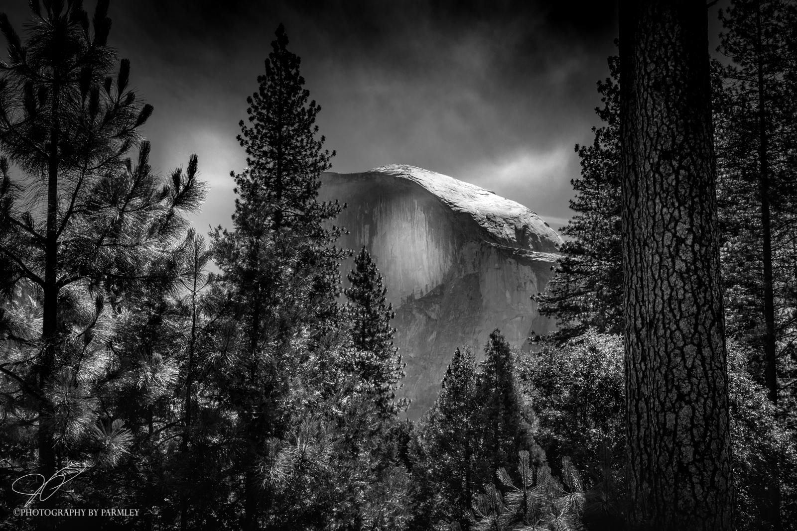 Yosemite b-w