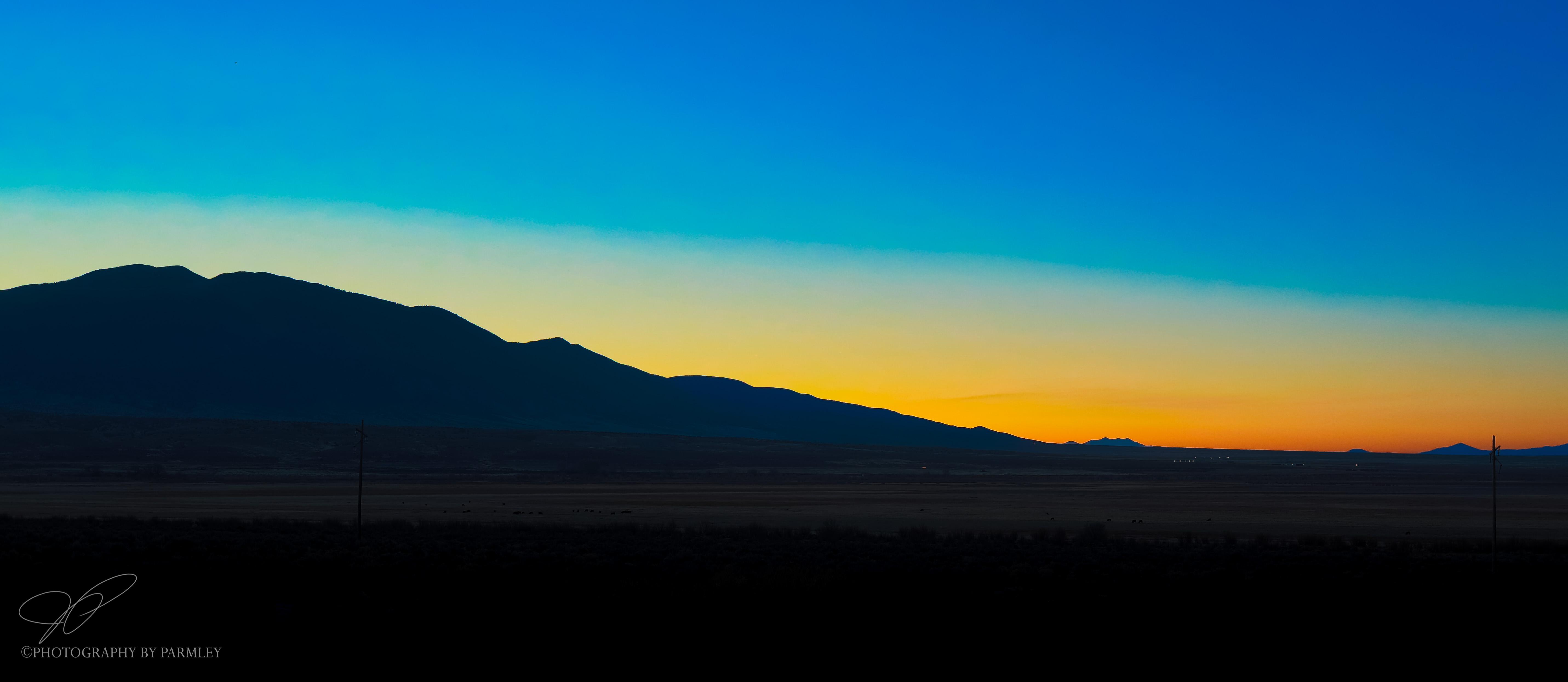 Dawn in Utah